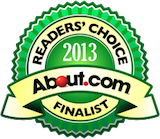 About.com Reader's Choice Finalist 2012